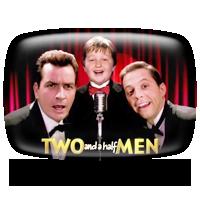 Charlie Sheen, Angus T. Jones and Jon Cryer