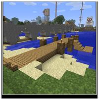 Minecraft Dock
