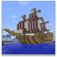 Minecraft Ship
